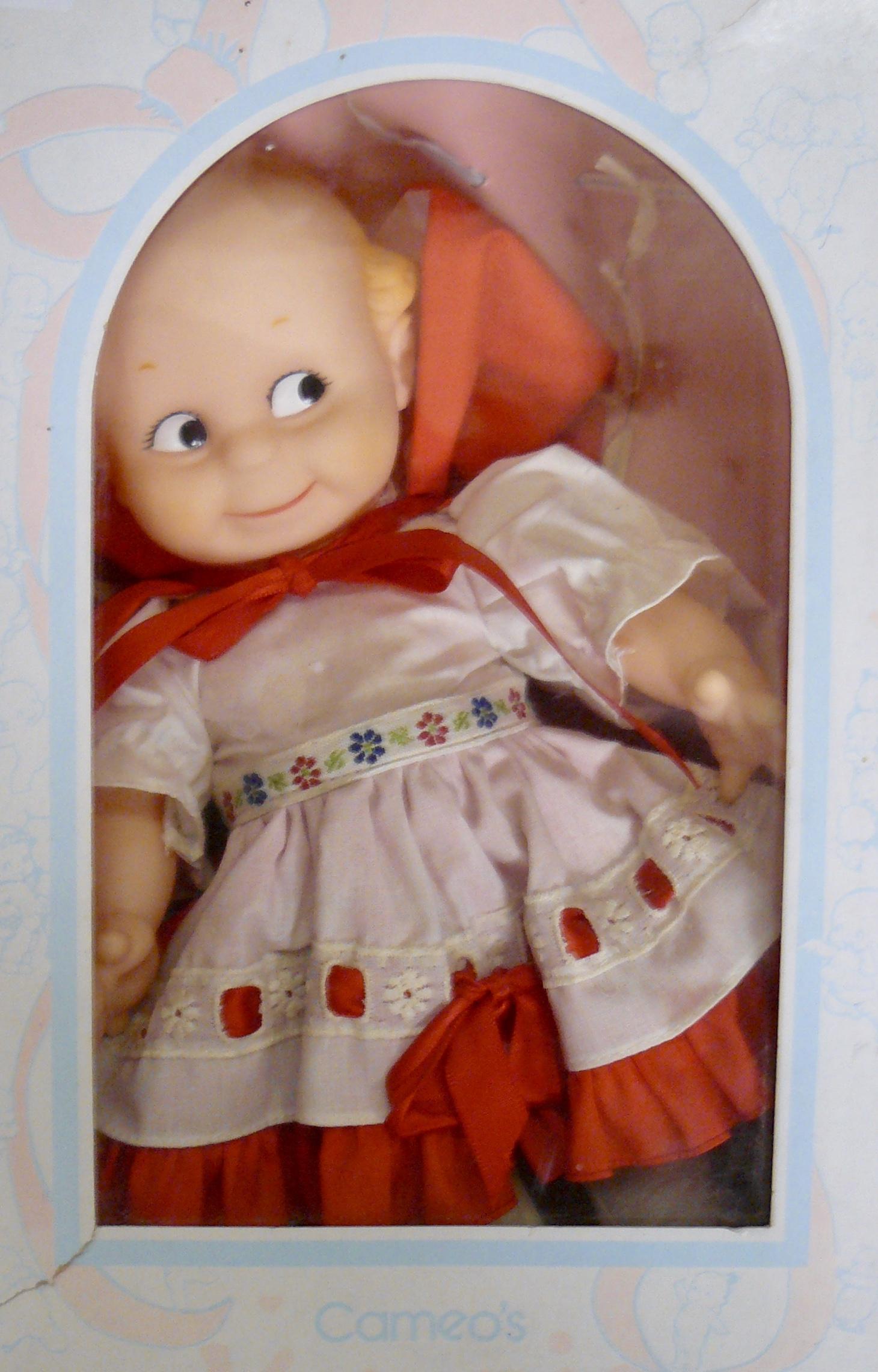 Cameo Kewpie Doll W Box And Original Clothing U2013 Booth 32, $65.00.